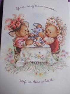 Illustration for Hallmark card by Mary Hamilton