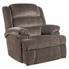 Big and Tall 350 lb. Capacity Aynsley Charcoal Microfiber Recliner, AM-9960-7922-GG by Flash Furniture | BizChair.com