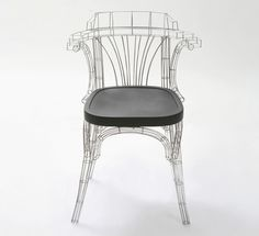 The Grid Chair by Jaebeom Jeong may look like something straight out of Solidworks but it's a real chair. The design is inspired by industrial super Metal Chairs, Cool Chairs, Modern Furniture, Furniture Design, Lighting Concepts, Yanko Design, Take A Seat, Furniture Inspiration, Sofa Chair