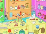 Objetos y juguetes perdidos en los juegos infantiles gratis para niños y niñas de VivaJuegos.com