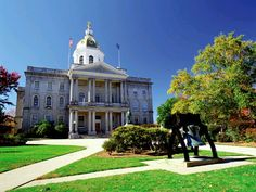 Concord, New Hampshire's Capitol, is becoming a melting pot of innovative and sustainable businesses as well as people. It's always been a fantastic community and is evolving every day.