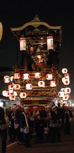 Festival float (hikiyama) in Jōhana (城端町), Japan 城端曳山祭 #Japan