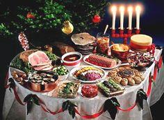 Traditional Swedish Christmas food