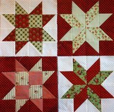 Star Crossed Christmas Quilt Block   Star, Christmas quilting and ... : christmas star quilt block - Adamdwight.com