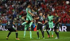 Cristiano Ronaldo equals Michel Platinis Euros goals record with Hang-Time Header v Wales [Tweets]