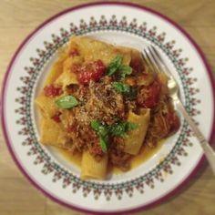 Rachel Khoo recipe duck ragu rigatoni