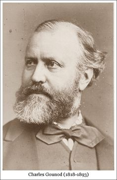 Charles Gounod Charles Gounod, Famous People In History, Romantic Composers, Lard, Recorder Music, Gibson Girl, Music Composers, Opera Singers, Music Film