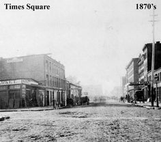 Times Square, 1870s-2010s