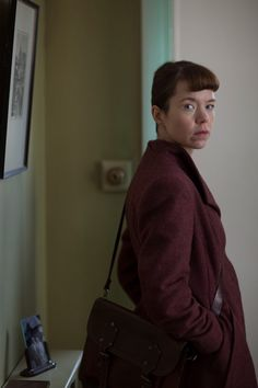 Anna Maxwell Martin plays Susan on Bletchley Circle