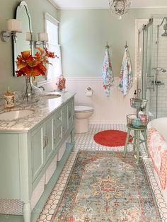 bathroom decor ideas colors * bathroom decor - bathroom decor ideas - bathroom decor ideas colors - bathroom decor apartment - bathroom decor ideas on a budget - bathroom decor ideas themes - bathroom decor ideas small - bathroom decor modern Modern Bathroom Decor, Chic Bathrooms, Dream Bathrooms, Beautiful Bathrooms, Bathroom Interior Design, Small Bathroom, Master Bathroom, Bathroom Rugs, Colorful Bathroom