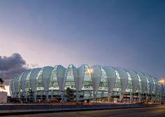 FIFA World Cup 2014 stadiums photographed by Leonardo Finotti - Beira Rio Stadium by Hype Studio, Porto Alegre.