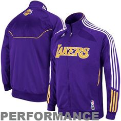 Los Angeles Lakers Warm Up Authentic on Court 2010-11 Jacket (Large) Get the new Los Angeles Lakers Warm Up on Court Jacket for the 2010-2011 season. Featuring the new ClimaLITE fabric technology. Comfortable lightweight and breathable material  Lightweight Team Jacket 100% Polyester Sewn Team Logo Team Color and stripes Official NBA Product Adult Sizing