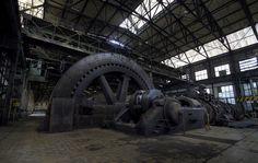 Flywheel - Abandoned power plant