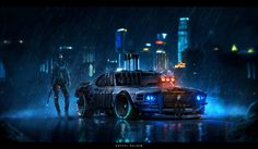 Mustang, Dodge Charger and Corvette Rendered as Toxic Futuristic Muscle Cars Back To The Future, Future Car, Future Tech, Dream Cars, R34 Gtr, Futuristic Art, Cyberpunk Art, Cyberpunk 2020, Cyberpunk Aesthetic