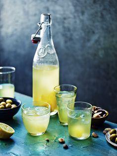 Freshly squeezed lemonade.