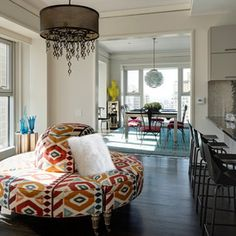 Creative style...great room
