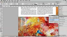 InDesign Secrets Video: Ghosting Images Behind Text