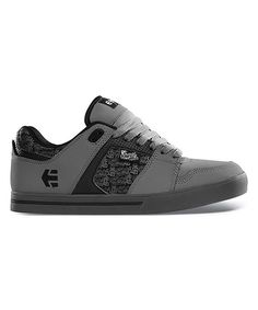 big sale 26394 7b9bb Look at this etnies Gray   Black FSAS X Twitch Rockfield Leather Sneaker on   zulily