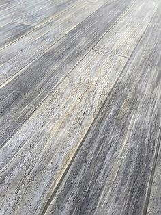 Gray Concrete Floor That Looks Like Washed Wood · Concrete Patio StainWood  Stamped ...