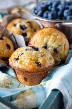 Move over lemon, blueberry and banana is the new flavor combo for spring! These Blueberry Banana Muffins are the BEST easy breakfast recipe! Chock full of blueberries and packed with banana, these easy muffins are sure to be a hit with everyone! Zucchini Muffins, Banana Blueberry Muffins, Banana And Egg, Blueberry Recipes, Healthy Muffins, Blue Berry Muffins, Blueberry Cupcakes, Muffin Recipes, Baking Recipes