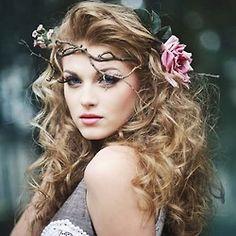 Minus the rose, dream hair.
