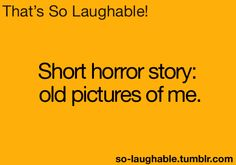 Short horror story: old pictures of me
