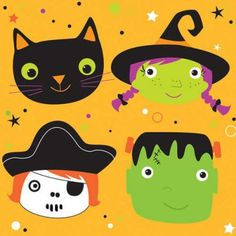 Have a hauntingly cute Halloween party with these Halloween monster beverage napkins. Halloween Party Supplies, Halloween Drinks, Halloween Items, Cute Halloween, Beverage Napkins, Cocktail Napkins, Company Party, Church Events