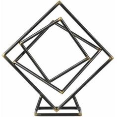 Urban Trends Collection: Metal Abstract Sculpture, Metallic Finish, Gray, Brown, Multicolor