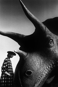 Photographer Jeanloup Sieff, 1963
