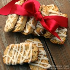 Gluten Free Vanilla Biscotti Cookies by Healthy Living How To...
