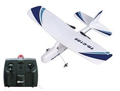 Hobby RC Airplanes - Top Race Cessna C185 Electric 2 Ch Infrared Remote Control RC Airplane Ready to Fly Colors Vary ** You can get more details by clicking on the image.