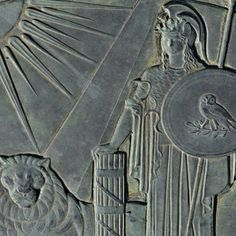 ABUNDANTANTIA - Ellen Phillips Samuel Memorial Sculpture Garden #photography #fairmountpark #philadelphia #pennsylvania #kellydrive #green #nikon #sculpture #bronze #fasci #lion #sun #pyramid #owl #shield #occult #pagan #greek #roman #athena #minerva #goddess #travel #history #art #mythology #wisdom #snake #aegis #helmet #EllenPhillipsSamuelMemorialSculptureGarden