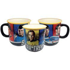 Star Trek Original Series 52 Oz Monster Mug Spock, Kirk, Scotty, & McCoy