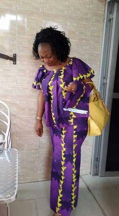 ★ African Dresses For Kids, African Maxi Dresses, African Fashion Ankara, Latest African Fashion Dresses, African Print Fashion, Africa Fashion, African Attire, African Wear, African Women