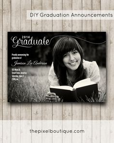 If you have (or are yourself) a high school or college senior, you're no doubt in the market for graduation announcements. Next year at this time, I'll be in your shoes with my firstborn who will b...