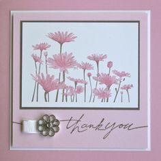 Shelley's Stamping Ground: Upsy Daisy goes Pink
