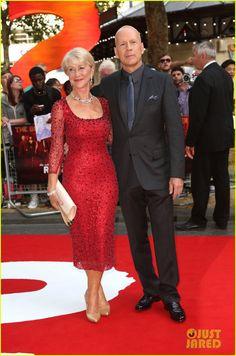 helen mirren advice   Helen Mirren & Bruce Willis: 'Red 2' London Premiere!   Bruce Willis ...
