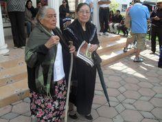 Ziquítaro. Días de fiesta.Las hermanas Consuelo y Flora Campos Mojica