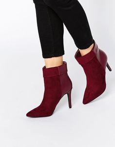 Pieces | Pieces Psvalerie Heeled Ankle Boots at ASOS