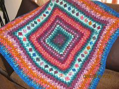 Giant granny afghan