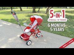 5-in-1 EZ Stroll N' Trike   Trikes for Kids   Radio Flyer