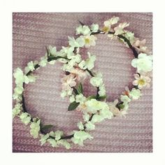 Indie Flower Crowns by xRADFADSx on Etsy, $15.00