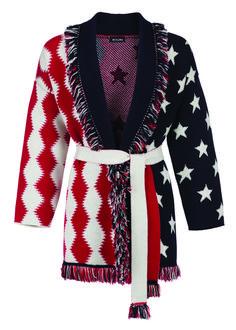 MITAWA APACHE CARDIGAN VERSIONE USA Heritage Brands, Christian Louboutin, Girl Fashion, Cashmere, Blazer, Usa, Jackets, Elegant, Women's Work Fashion