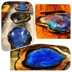 Amazing resin wood table for your home furniture # woodwork projects Source by amazing DIY projects of branches and amazing DIY projects of branches and branchesResin Table: templates, decorationDIY copper pipe & wooden table Resin Crafts, Resin Art, Wood Crafts, Diy And Crafts, Small Woodworking Projects, Wood Projects, Woodworking Chisels, Diy Woodworking, Epoxy Resin Table