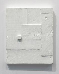 Eva Berendes white minimalist painting
