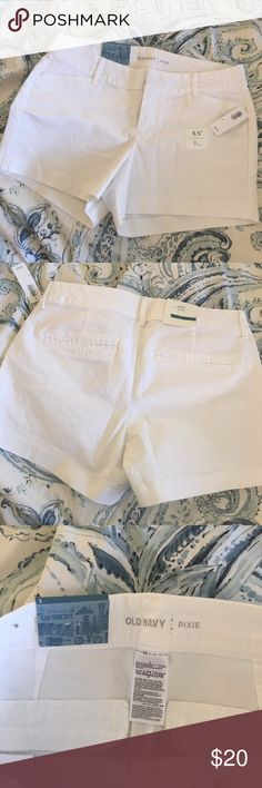 Old Navy Pixie White Shorts NWT Brand New! Old Navy Shorts