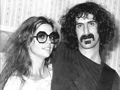 Frank & Gail Zappa: 20 Romantic Photos of Frank Zappa and His Second Wife From Between the and ~ vintage everyday Divas, Frank Vincent, Whisky A Go Go, Second Wife, Laurel Canyon, Frank Zappa, Romantic Photos, Civil Ceremony, Look Alike