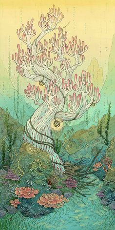 Aquatic Cosmos by Nicole Gustafsson