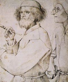 The painter and the buyer   c. 1565 (150 Kb); Pen and bl