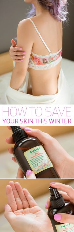 Beat the winter skin blues with Just Naturals skin serum, made with all natural ingredients!